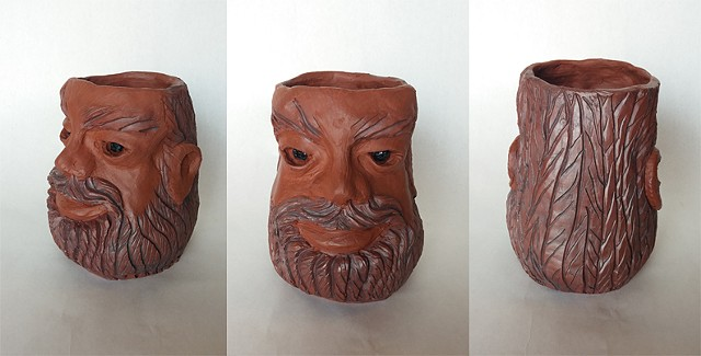 Bearded Planter Head