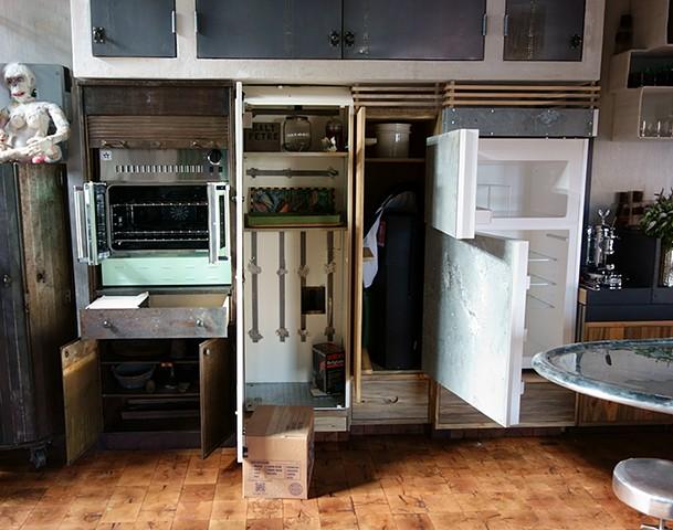 Stove and Fridge Cabinets, 2013