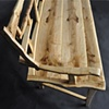 split ash settee