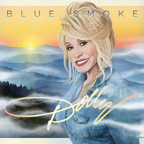 """""""Dolly"""" Blue Smoke"""