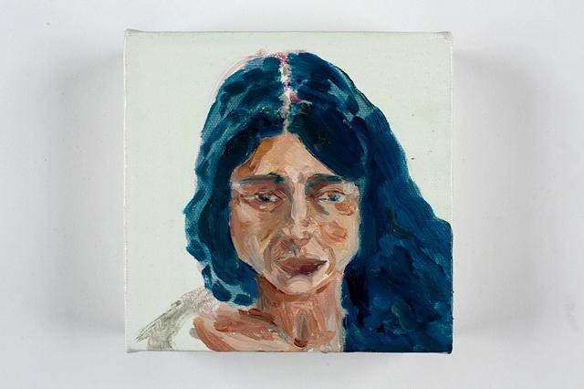 20 minute painting of Nura