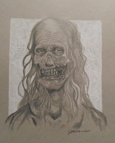 The Walking Dead-Crawling Zombie