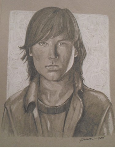 The Walking Dead-Carl
