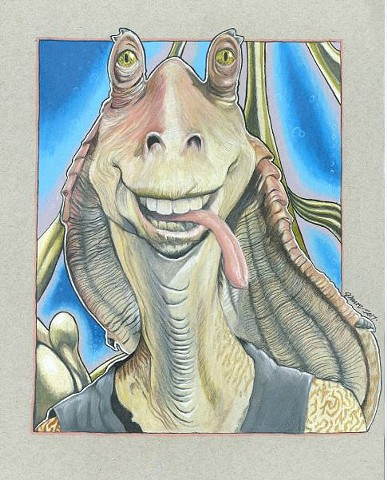 Everyone's favorite Gungan, right?