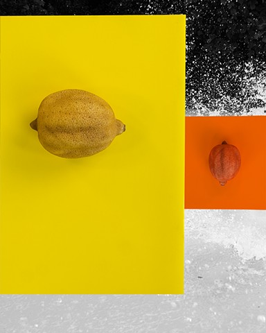 Lemon Abstraction No. 2, 2013