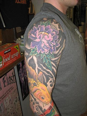 Josh's upper arm