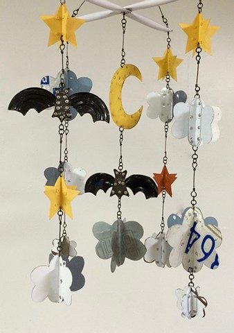 (Detail) Bats After Dark
