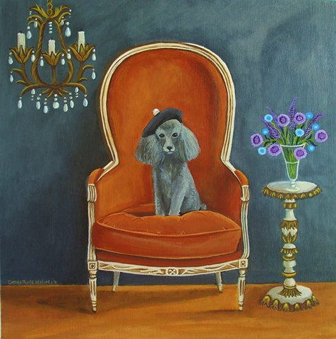 piano, painting, art, cat, topiary, fox, picasso, interior,