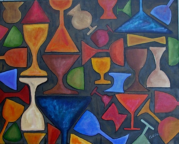 Stained Goblets