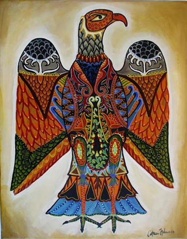 Abstract Eagle/SOLD