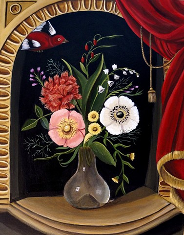 st. francis art, paintings, animal art, catherine nolin, assisi, reneissance art