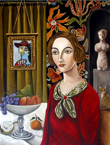 art, teacher, original painting, cat art, art studio, sculptures, catherine nolin, paintings