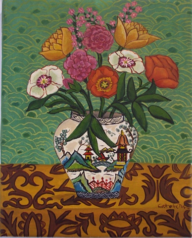 Chinoiserie Bouquet