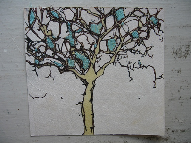 Lisboa Tree Drawing 1