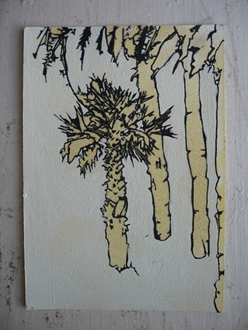 Lisboa Tree Drawing 7