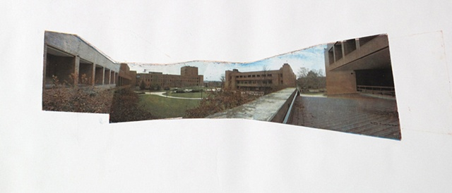 Panorama of Rochester Institute of Technology campus