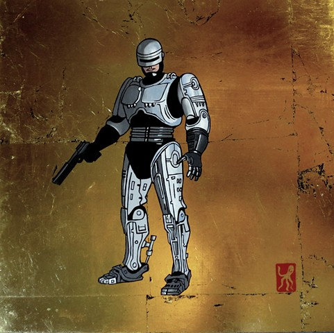 Robocop (after Lee Sullivan)