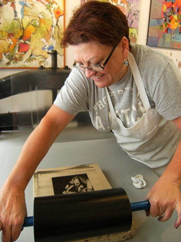 Stone Lithography Lessons
