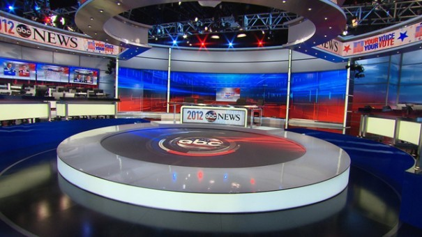 ABC Election Night 2012 Studio Picture
