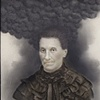 Great Grandmother's Legendary Dark Cloud (spirit photograph) Prussian, mid 1800s Accession No. 2010-98-po