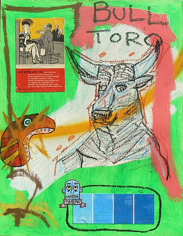 Pastel Toro