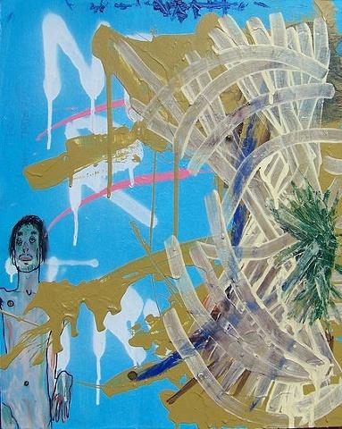 Schiele Blue