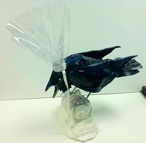 Raven wit Hat