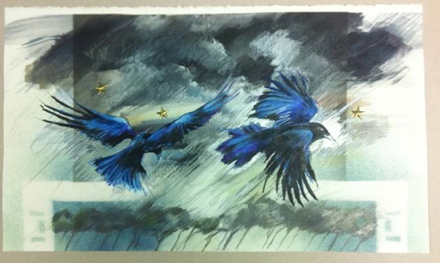 Birds with Stars #1