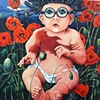 Baby in Poppies
