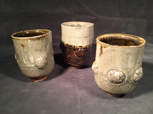 Stoneware group: Celadon