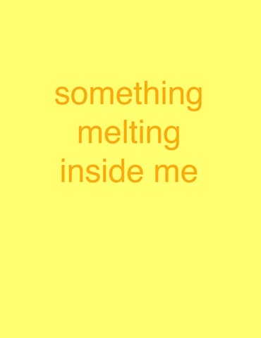 'something melting inside me' from Falling