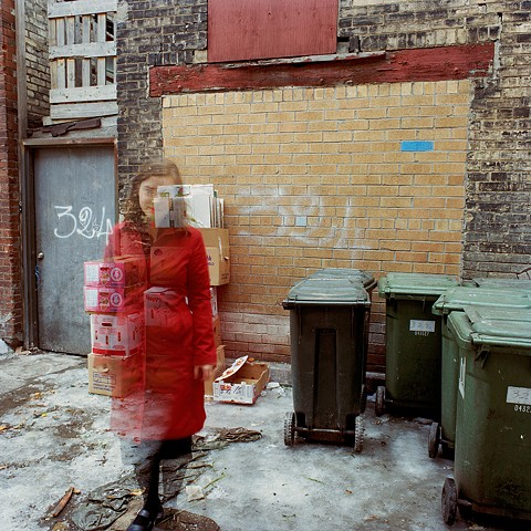 'Untitled (324 Alley)' from the series 'When Blue is Read'
