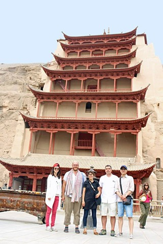 Magao Caves in Dunhuang