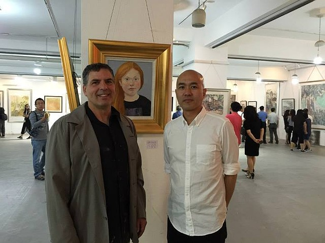 Yao with Portrait of Mai