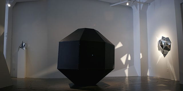 Installation view of the Light, Infinite Mortal and Centering Device #1