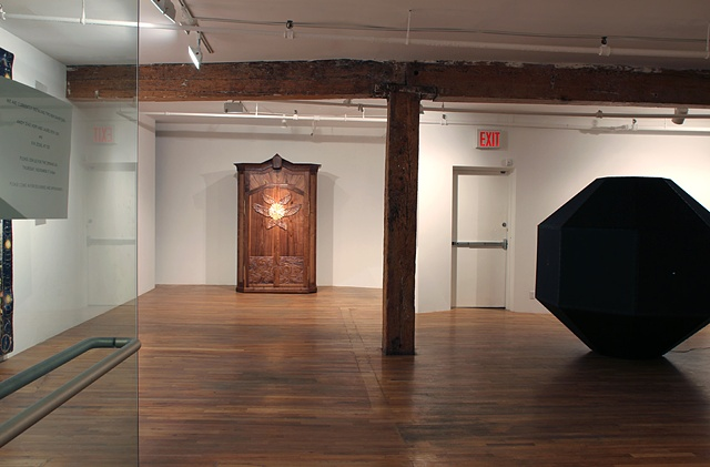 Views of installation at Schroeder Romero and Shredder Gallery