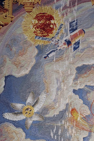 Allegory of the Infinite Mortal (detail of Skylab)