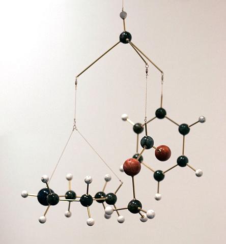 Ritalin Molecule detail