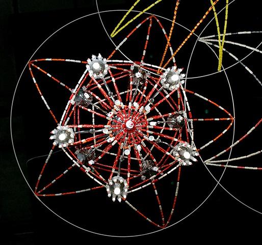 Trinity (detail of Bubbles's Mandala