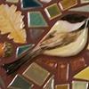 Acorn Chickadee Heart