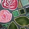 Three Roses Garden Heart