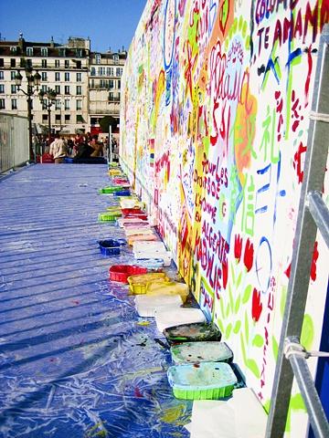 Human Rights Wall