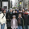Hosna and family, UK