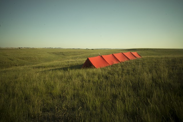 The Tent Project: Badlands National Park SD