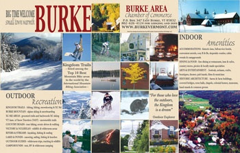 BURKE AREA CHAMBER OF COMMERCE VISITOR BROCHURE (side 2)