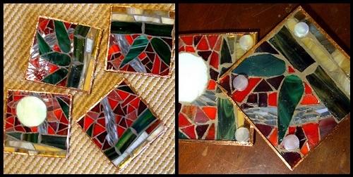 BAMBOOZLE (bamboo puzzle) Coaster Set - details