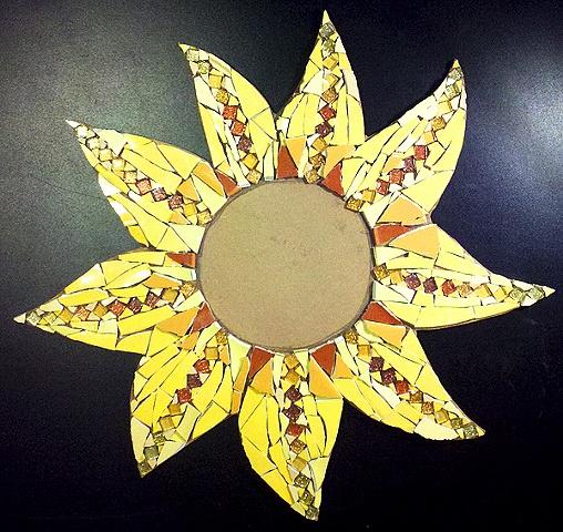 Sunflower with Tesserae