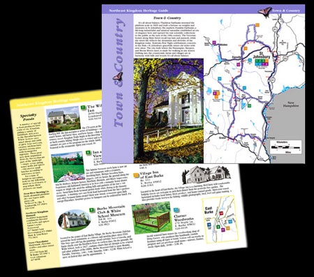 HERITAGE GUIDE BOOK (inside pages) - Vermont's Northeast Kingdom