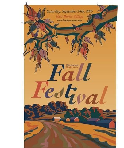 FALL FESTIVAL POSTER - 2005