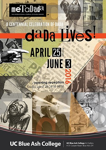 Dada Lives! At the University of Cincinnati's Blue Ash Gallery